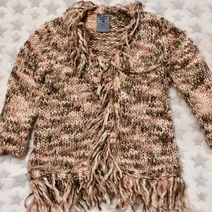 Size 1 Pumpkin Patch knitted style jacket
